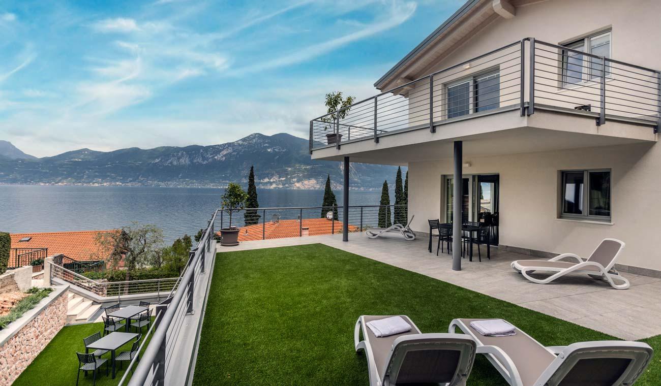 Terrazze  direttamente sul lago di Garda