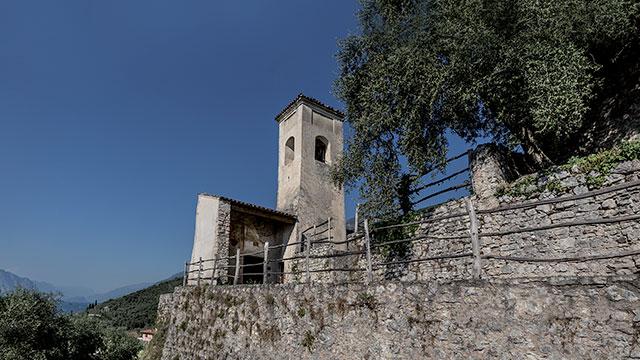 Chiesa Sant Antonio vicino a Castelletto di Brenzone