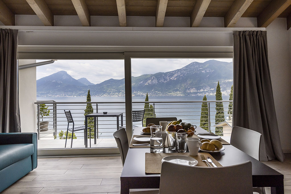 Splendida vista sul lago di Garda