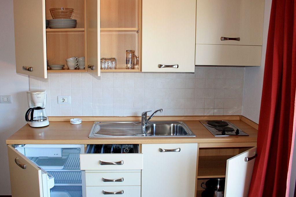 Cucina attrezzata residence solei