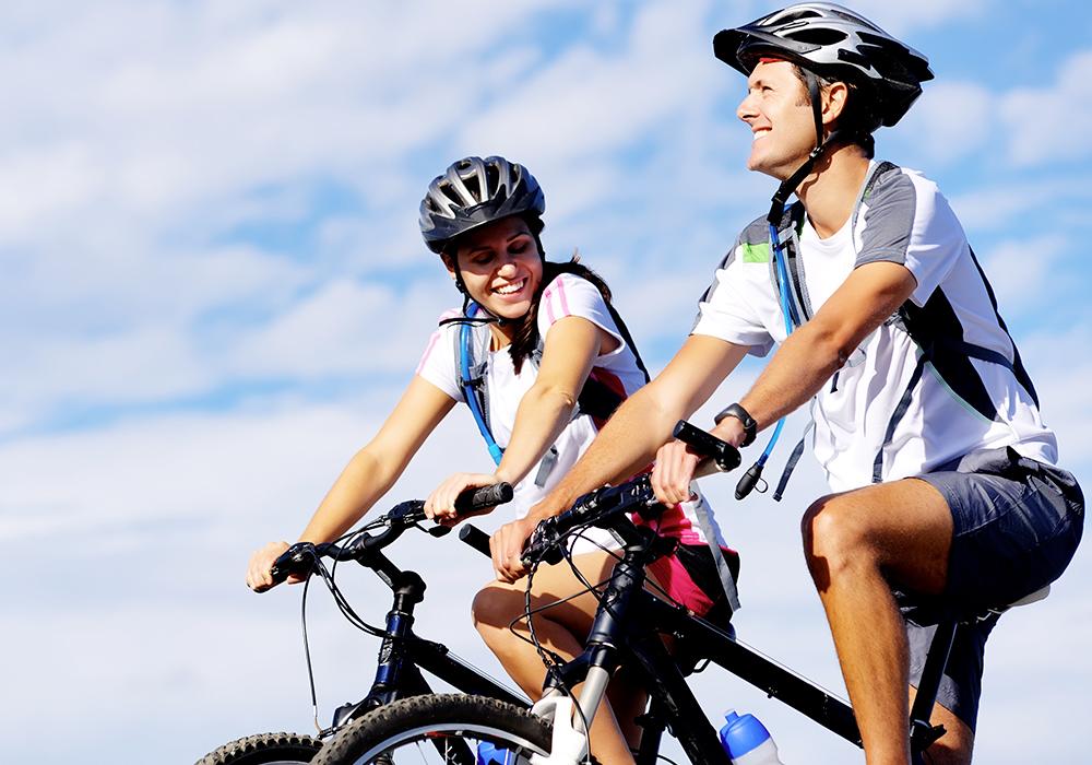 sport e mountainbike sul monte Baldo e sulla ciclabile del Garda