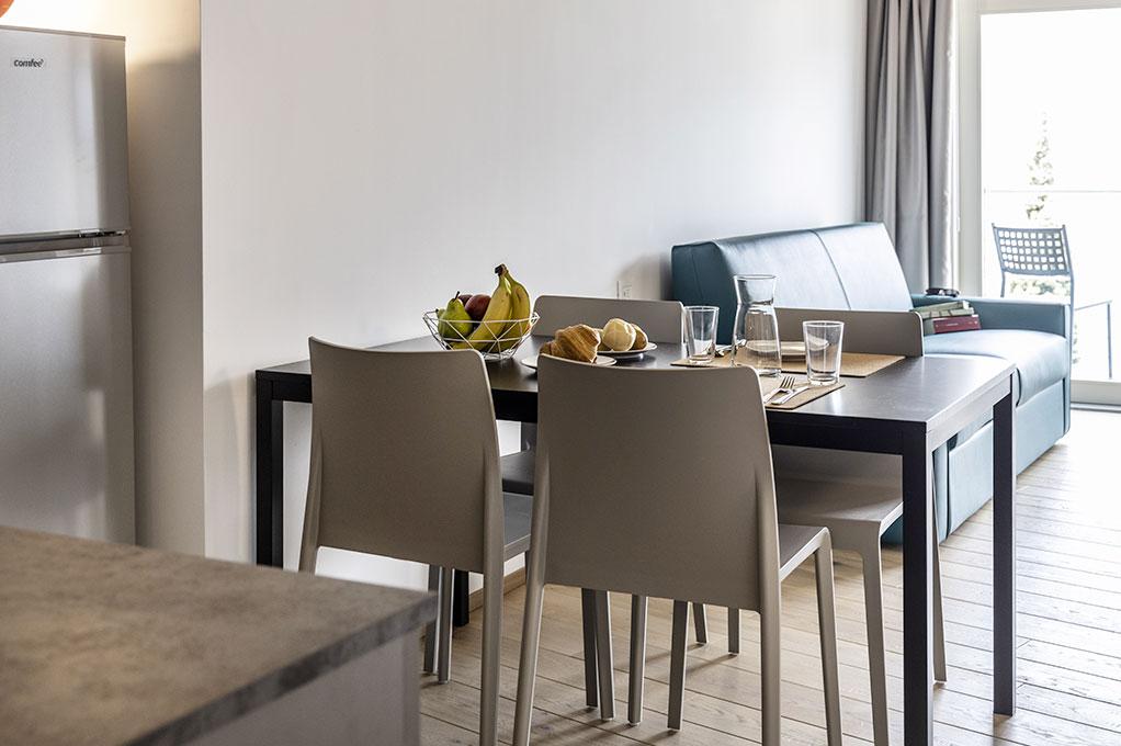 appartamento Monolocale residence Solei Plus colazione continentale