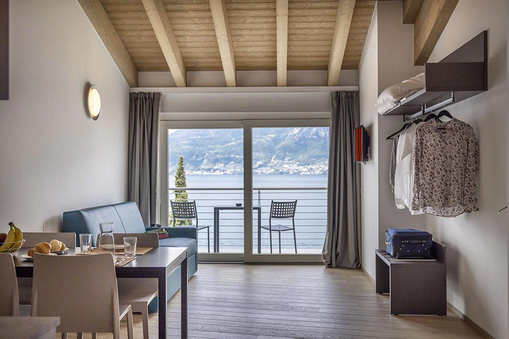 appartamento Monolocale residence Solei Plus con vista