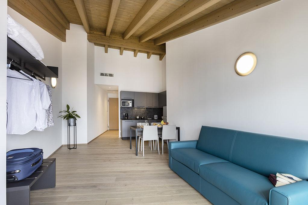 appartamento ampio Monolocale residence Solei Plus