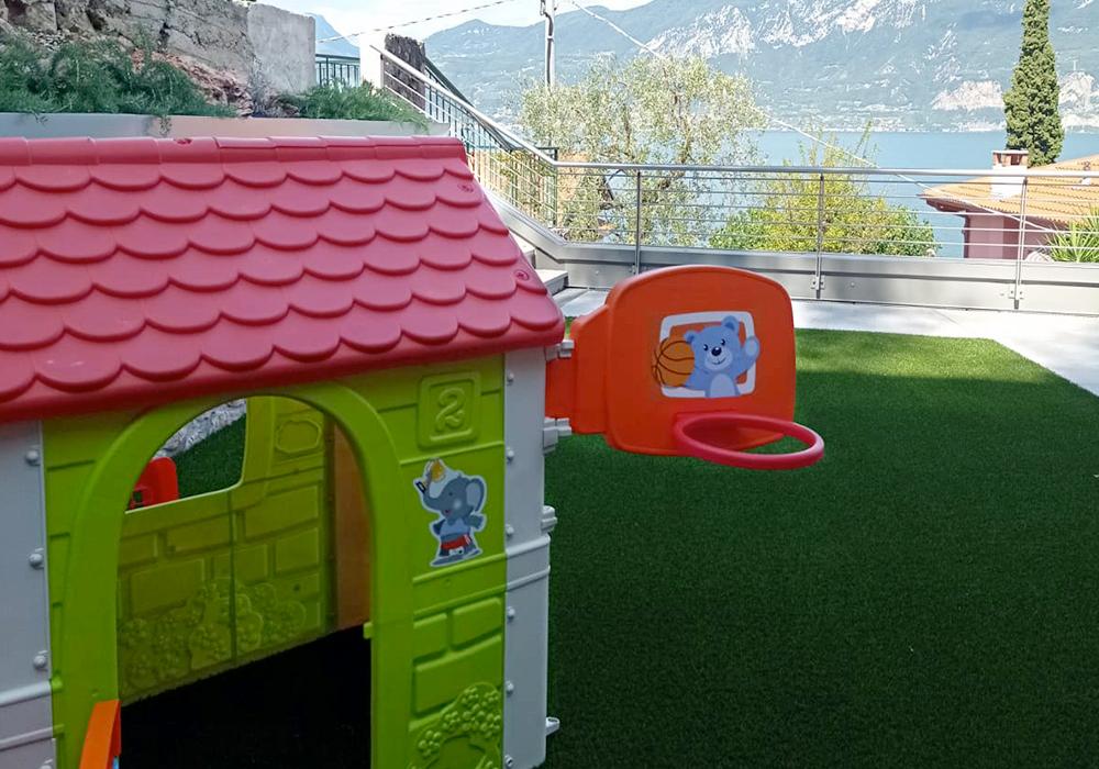 Kinderspielplatz Residenz Solei Castelletto di Brenzone